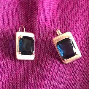 """""""3 x $15 Jewelry deal"""" Blue / silver earrings"""